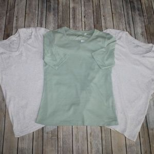 Bundle Lot of 3 Chico's T-shirts Tops HW4161